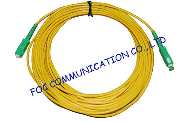 China High Stability Fiber Optic Cable Assembly , CATV System SM Simplex SC SC Patch Cord​ supplier