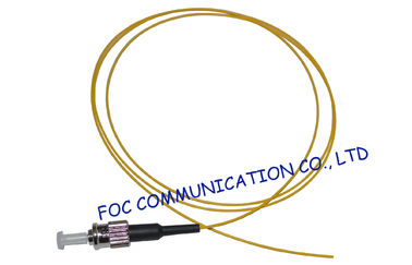 China Hytrel ST Single Mode Fiber Pigtail WAN / Premise Installations , Low Insertion Loss supplier