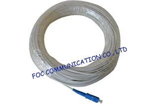 China Simplex or Duplex SC Optical Fiber Pigtail with FTTH Indoor Cable High Stability supplier