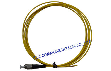China FC 2.0mm Fiber Optic Pigtail SM LSZH Low Insertion Loss for Optical Networks supplier