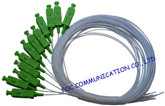 China Simplex Fiber Optic Pigtail SC / APC  SM G.657A2 , Bend Insensitive For Telecom supplier