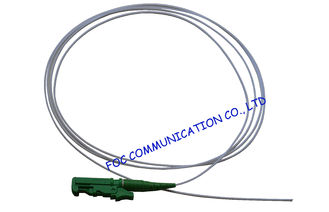 FTTX OFNP Optical Fiber Pigtail SM , 0.9mm Tight Buffered E2000 Pigtail