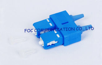 China Duplex 0.9mm SC Optical Fiber Connectors SM / MM For WAN And LAN supplier