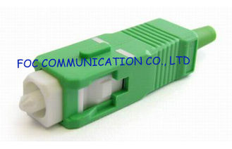 China SC / APC SM Fiber Optic Connector , Telecom SC Fibre Connector supplier