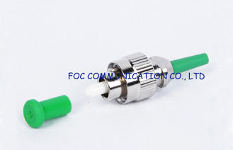 China Optical Fiber Connector FC / APC 0.9mm For Fiber Optic Communication Network supplier