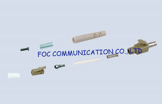 China 0.9mm LC Fiber Optic Connector Multimode And Singlemode Simplex For CATV and WAN supplier