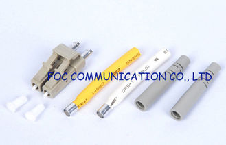 China High precision Stable lc type fiber optic connector Duplex MM 2.0mm supplier