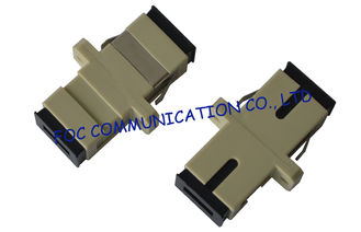 China Fiber Optic Adapter SC MM Simplex and Duplex High Stability For FTTX networks supplier