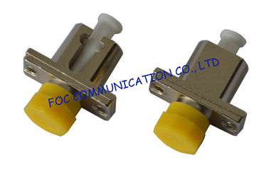 China LC-FC and LC-SC Hybrid Fiber Optic Adapter / female to female adapter supplier