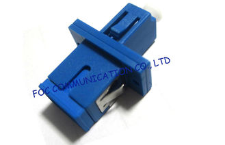 China Plastic Simplex Fiber Optic Adaptor LC - SC For Fiber Optic Telecom Networks supplier