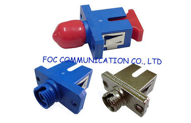 China Low Insertion Loss Fiber Optic Adapter / Ftth And Fttx Sc To St Adapter supplier