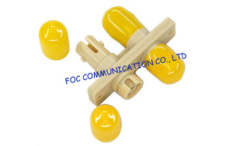 China SC - FC , FC - ST Hybrid Plastic Fiber Optic Cable Adapter Multimode For Testing Instruments supplier