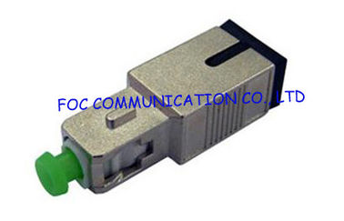 China SC / APC Fiber Optic Attenuator 0dB to 25dB / single mode fiber attenuator supplier
