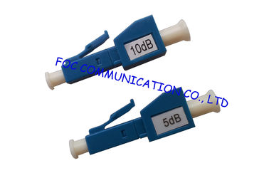 LC / UPC fiber attenuator Male to Female / 0dB to 25dB optical attenuators