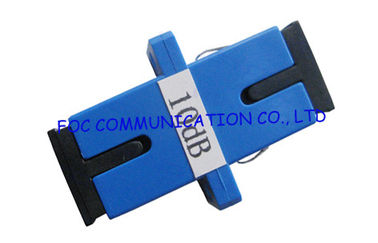 China FTTX Networks SC Fiber Optic Attenuator single mode , 10 db attenuator supplier