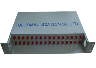 China Telecom Adapters And Pigtails Fiber Optic Patch Panel 32Port FC supplier