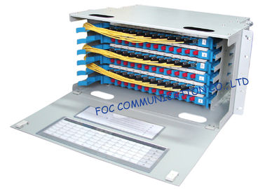 China Optical Distribution Frame Full Loaded SC or FC Pigtails And Adapters / Fiber Patch Panel supplier