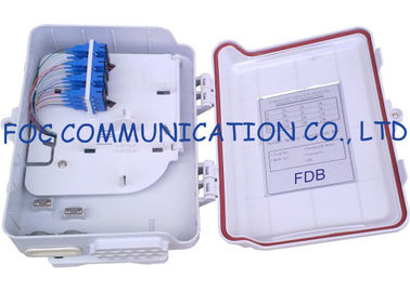 China 16 Ports Fiber Optic Distribution Box With Splitters and Adapter For FTTH​ supplier