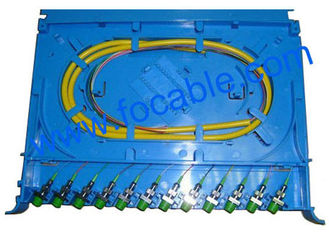 China ABS Fiber Optic Splicing Module Small Size and Easy Install Suitable For FC And SC supplier