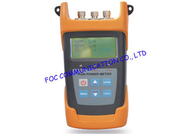 China 15DBm Output power Handheld Fiber Optic Test Equipment For FTTX Networks supplier