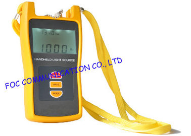 China High Stability Fc / Pc Fiber Optic Light Source Tester For Multimode Fiber supplier