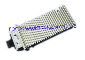 China X2 MSA 10 Gigabit Ethernet Transceiver , APD Photo Detector Optical Fiber Transceiver supplier