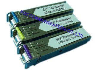 China Bi - Di Gigabit Ethernet Transceiver , Small Form-Factor Pluggable Optical Transceiver supplier