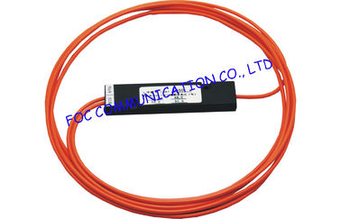 China FBT Fiber Splitter, ABS Module Type Multimode Fiber Splitter with 3.0mm Tube supplier