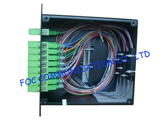 China LGX Type 1 X 32 Optical Fiber Splitter PLC High Reliability And Stability supplier