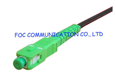 China FTTH Fiber Optic Pigtail  SC/ APC with FTTH Indoor Cable High Stability supplier