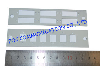 China Fiber Optic Adapter Plate SC 6 Pack Simplex And Duplex for ODF supplier