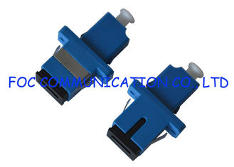 China Plastic LC-SC Fiber Adapter , Singlemode Fiber Optic Connector Adapters supplier