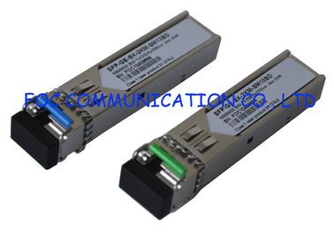 China 1.25G Gigabit Ethernet sfp optical transceiver module Bidi Singlemode Single Fiber supplier