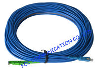China Armored Fiber Optic Patch Cord SM SC/UPC E2000/APC LSZH Jacket Anti - Rodent factory