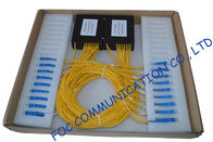 High Return Loss Fiber PLC Splitter 1 × 8 / Compact Pallet Splitter
