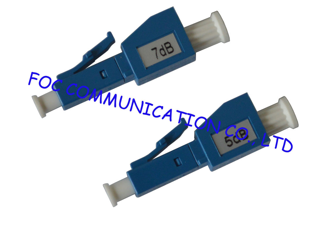 Male to Female Fiber  Optic Attenuator LC to Reduce Signal Power For Fiber Networks