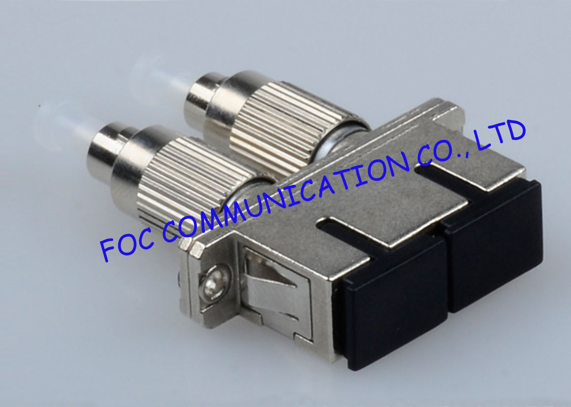 Fc Sc And St Hybrid Fiber Optic Adapter For Ftth Ceramic Sleeve Cable China