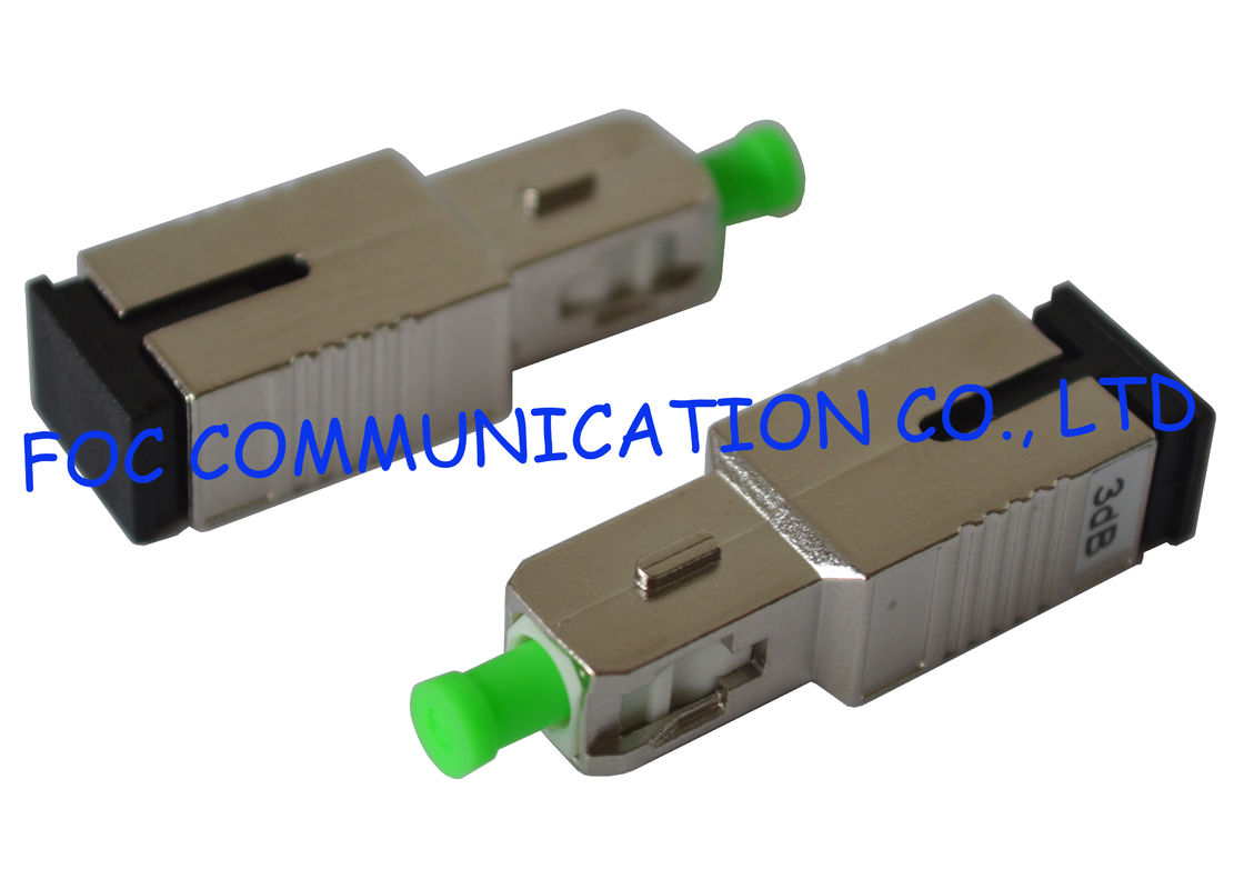 Fiber Attenuator SC / APC High Precision Attenuation Wide Attenuation Range