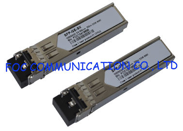 China 2.15 Gbps multimode SFP fiber transceiver For FTTX , 550M Transmission Distance distributor