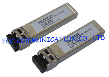 China 850nm SFP Optical Transceiver 10Gbps Multimode 300M For Fiber Network distributor