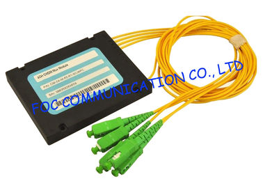China Coarse Wavelength Division Multiplexer , High Speed 4 Channel Cwdm Module factory