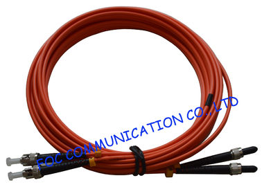 China SMA Fiber Optic Patch Cord OM2 Duplex 3 Meters LSZH Jacket Low Insertion Loss factory