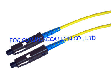China MU Optical Fiber Patch Cord LSZH High Strength Aramid Yarn Low Insertion Loss factory