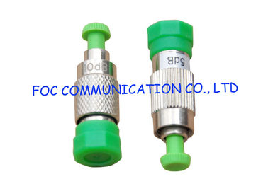 China Singlemode Male To Female FC Attenuator 10db 3db 5db 7db Rohs / ISO Certificate distributor