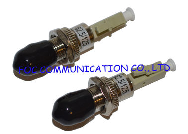 China LC 1.25mm to ST 2.5mm Hybrid Fiber Adapter MM High Precision Connection distributor