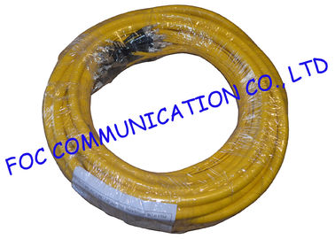 China Breakout optical patch cord FC / UPC 24 Core fiber optic jumper High Reistance distributor