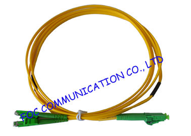 China LX.5 / APC - LC / APC fiber optic patch cables SFF Type Suitable For FTTH distributor