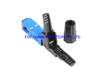 China Simplex Cores SC UPC  Quick Assembly Connector With Metal Housing distributor
