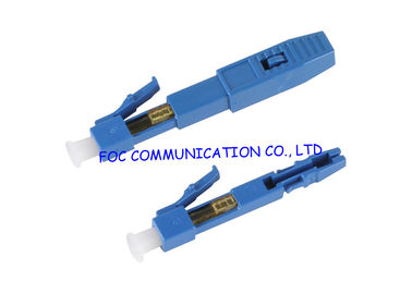 China Precision Field Assembly Connector LC Fiber Optic Connector for FTTx distributor