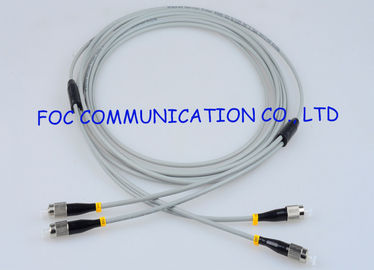 China Zipcord Armored Optical Fiber Patch Cables Multimode FC Anti rodent factory